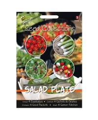 Saatgut Collection Salat Platte 4 in 1