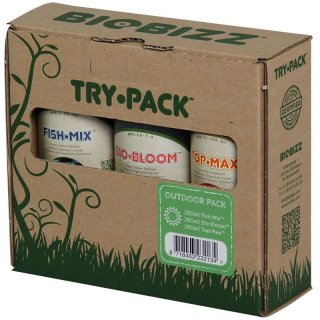 BIOBIZZ Try-Pack Outdoor Starterset
