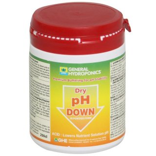 GHE pH Down in Pulverform 1 kg