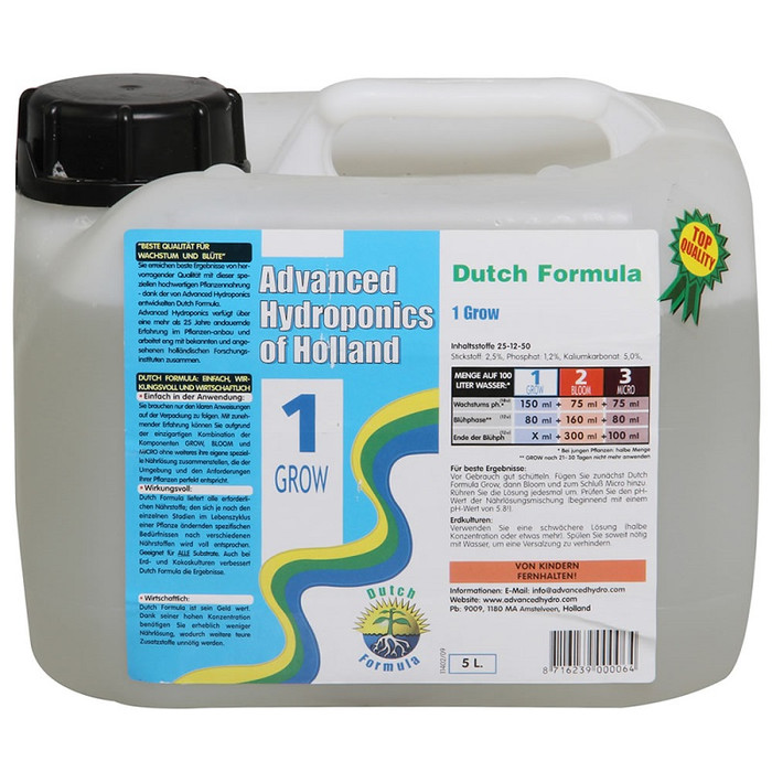 Advanced Hydroponics - Grow 5l