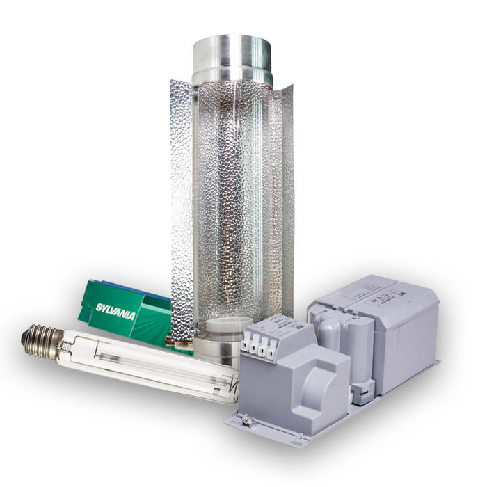 Beleuchtungsset 400W NDL Sylvania SHP-TS - Cooltube...