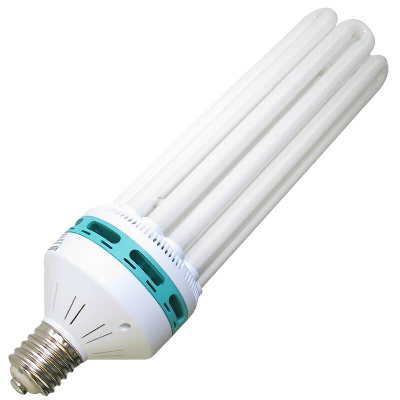 Reflektor 125W Blüte Sparset ESL Lampe Grow no NDL Energiesparlampe Elektrox