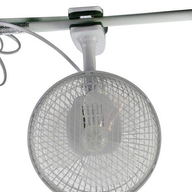 Umluft Ventilator 15cm mit Clip und Fuss