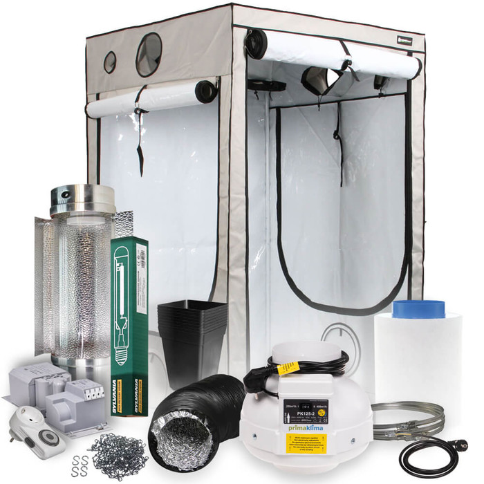 HOMEbox Evolution Q120 Grow Set 600 Watt + Cooltube
