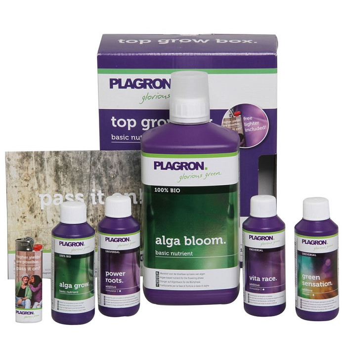 Plagron Top Grow Box 100% Natural Starterset