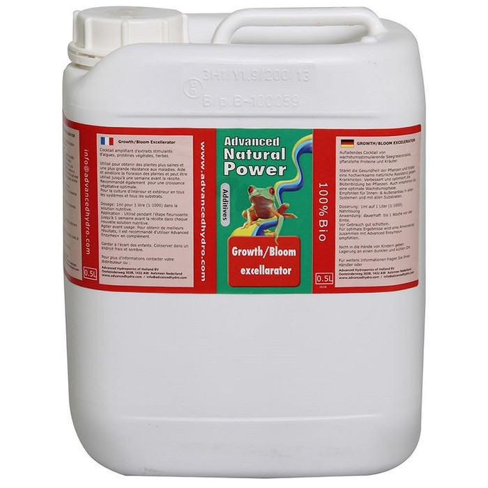 Advanced Hydroponics - Growth/Bloom Excellerator 5L