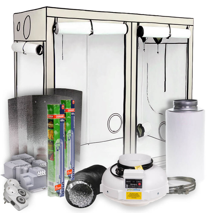 HOMEbox Evolution R240 Grow-Set 2x600 Watt