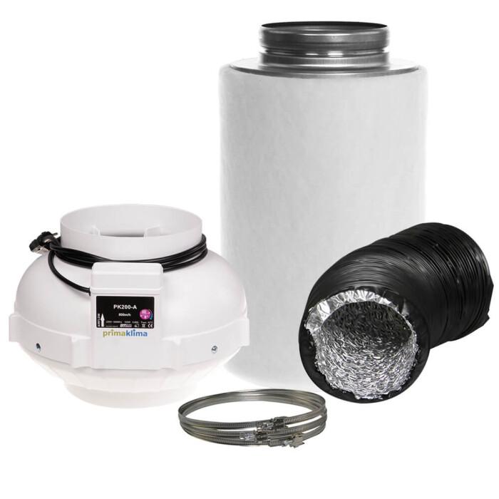 Ersatzvlies für Aktivkohlefilter Industrie  810 cbm//h ø200 mm