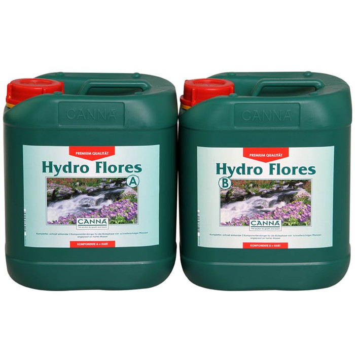 CANNA Hydro Flores A+B je 5 L Soft