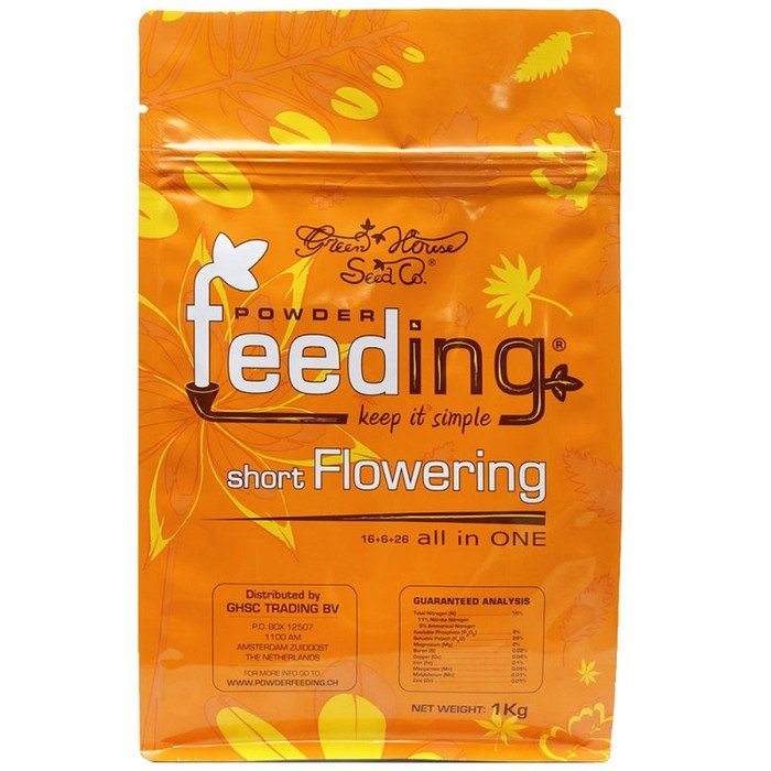 Powder Feeding short Flowering Granulatdünger 125g