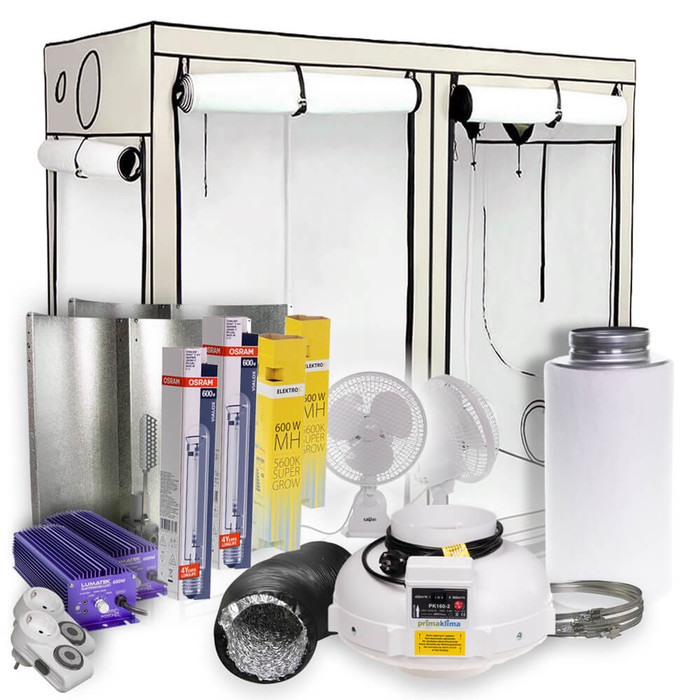 HOMEbox Ambient R240 Grow-Set 2x600 Watt
