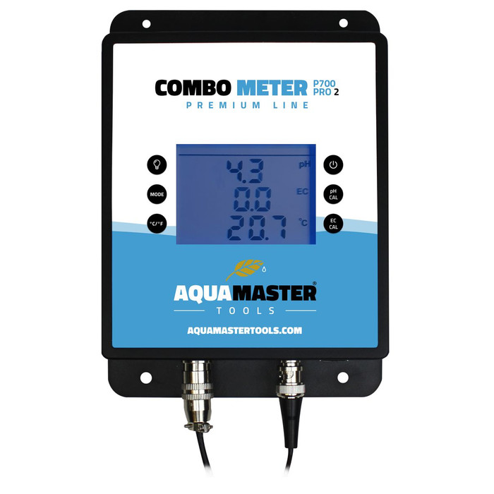 Aquamaster Combo Messgerät P700 PRO2 pH/EC & Temperatur