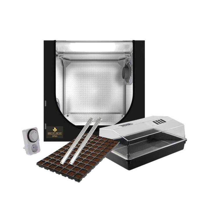 Secret Jardin DP60 60x40x60 cm LED Anzucht Set 2x26W