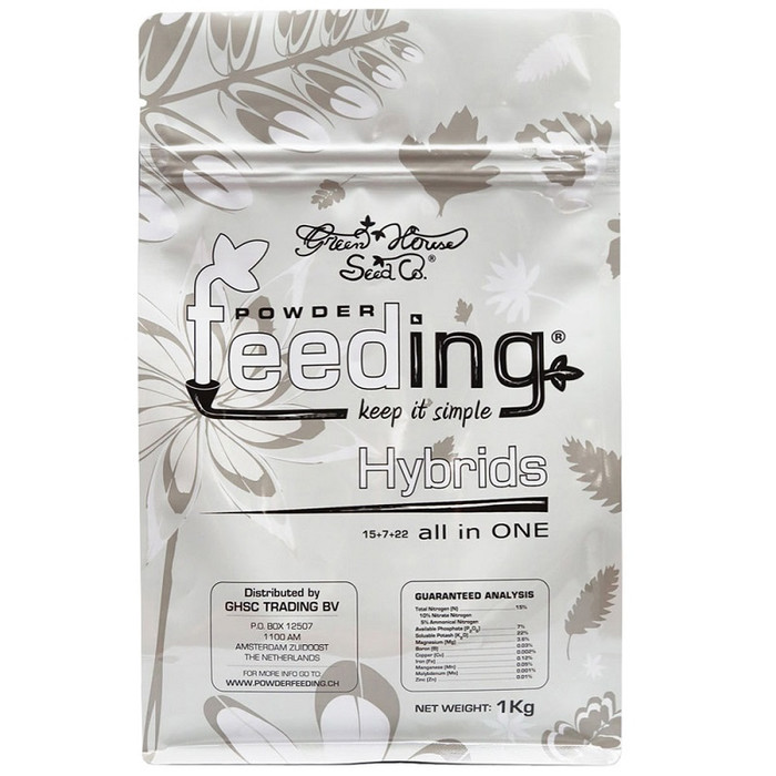 Green House Powder Feeding Hybrids 125g, 500g, 1kg, 2,5kg