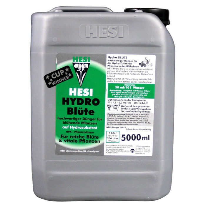 HESI Hydro Blüte 5 L Blütephase