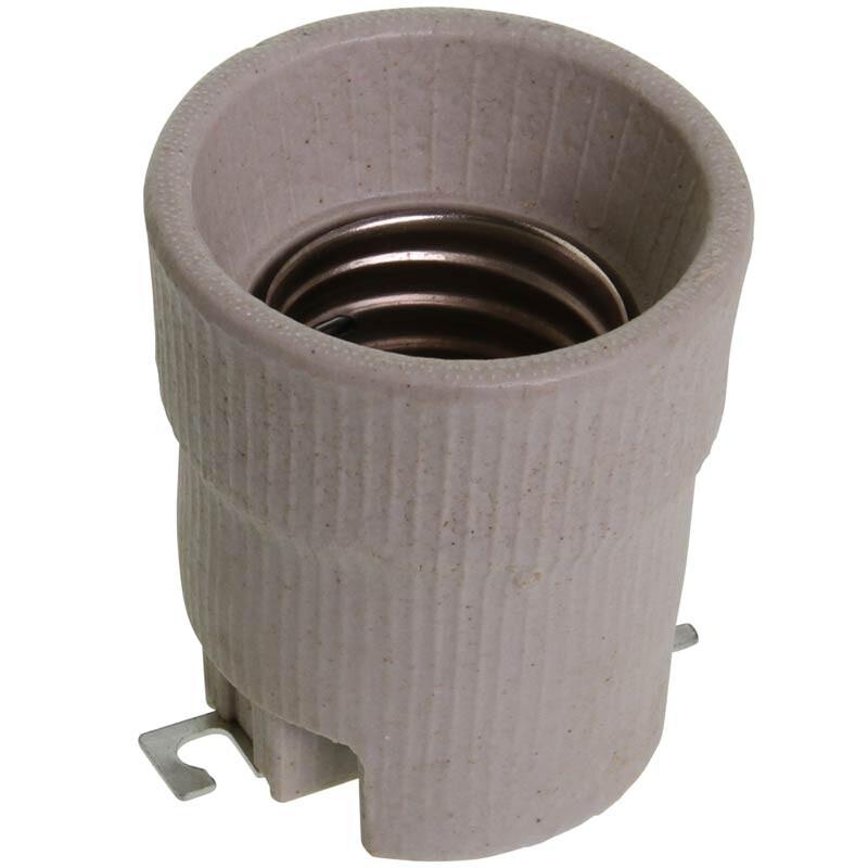 Aus Was Besteht Keramik e 40 fassung aus keramik mit schraubensatz growland