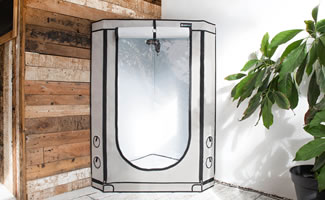 Finally the rectangular Grow Tent is now available! With this innovation you are now able to use even the tiniest corners of your home & News overview: HOMEbox Ambient Grow Tent | Vista u2013 Tents with ...