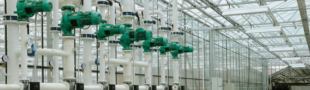 Aeroponics Pumpen System